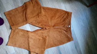 pantalon piel 100%