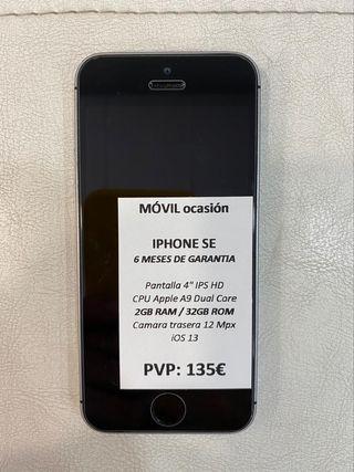 iPhone SE 32GB con garantía