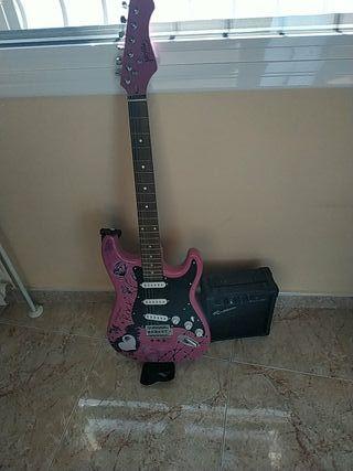 Guitarra eléctrica + amplificador Jaxville