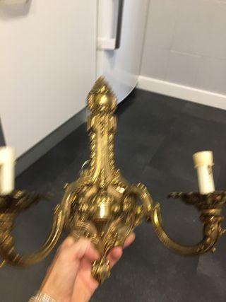 Apliques bronce