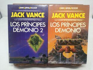 Los Príncipes Demonio (II tomos) - Jack Vance.