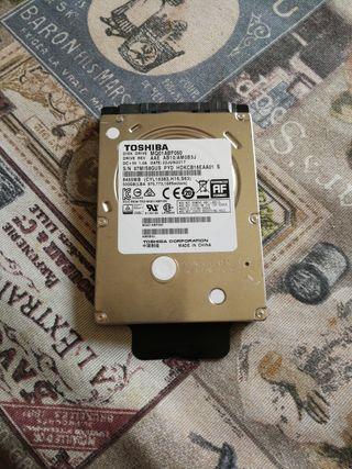 """Disco duro 500gb sata Toshiba 2.5"""""""