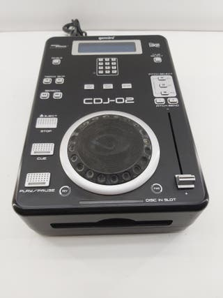 REPRODUCTOR CD CDJ-02 GEMINI