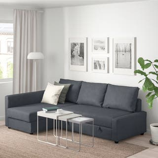 Sofá cama, chaiselongue, con arcón (almacenaje)
