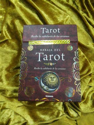 precioso Tarot español con arcanos incluidos