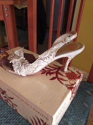 oferta vestido de novia completo 450