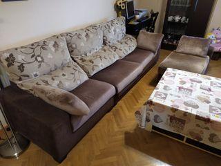 Sofa + Chaise longue independiente