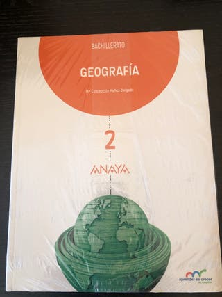 Geografía Anaya 2° Bachillerato