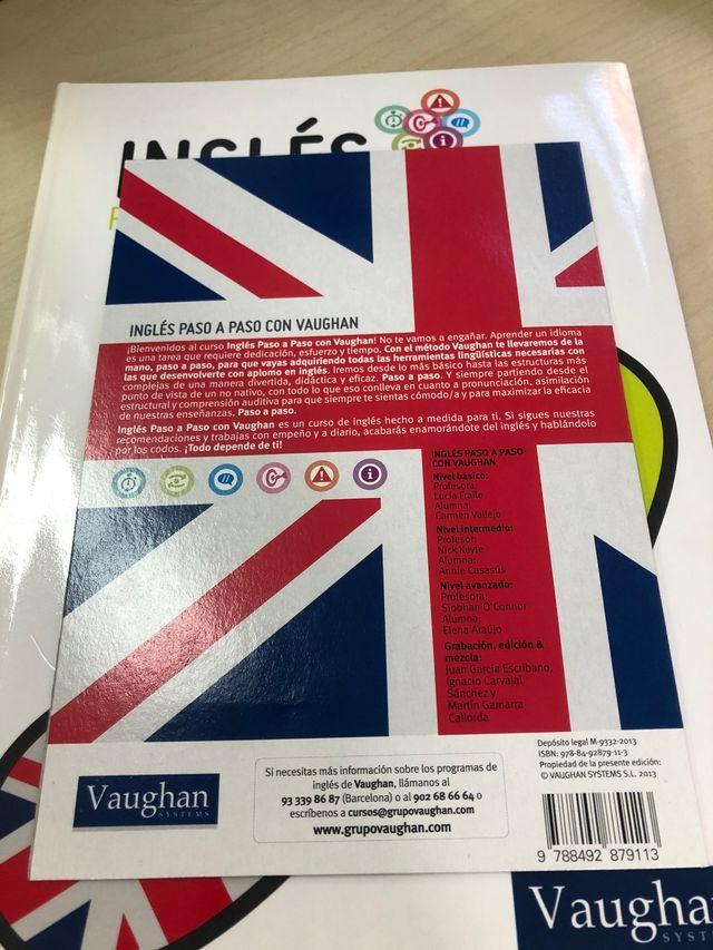 Libro de inglés.