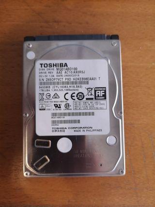 """1TB Disco duro Toshiba 2.5"""""""