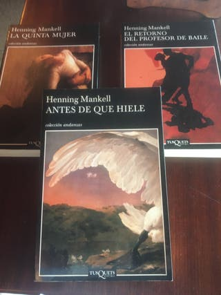 Colección novelas Henning Mankell