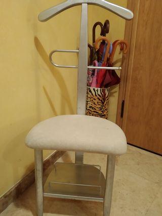 silla vestidor dormitorio
