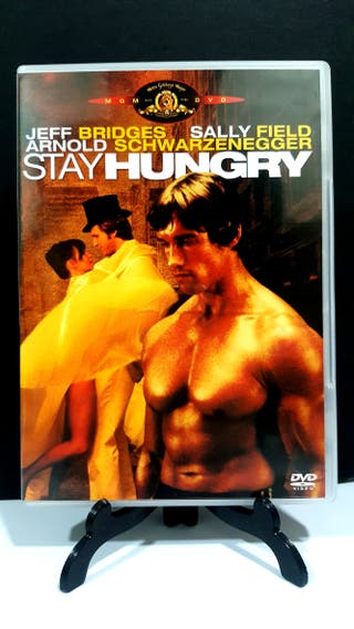 STAY HUNGRY ARNOLD SCHWARZENEGGER DVD IMPOLUTO