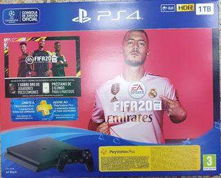 consola PS4 1TB(1000GB)+FIFA2020 INCLUIDO NUEVO