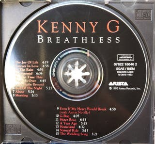 CD Kenny G Original con carátula