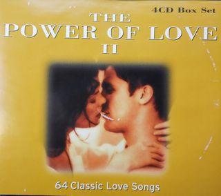 4 CD's - Te Poder of Love II