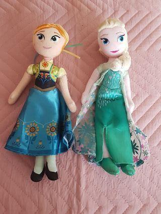 FROZEN -ELSA Y ANA