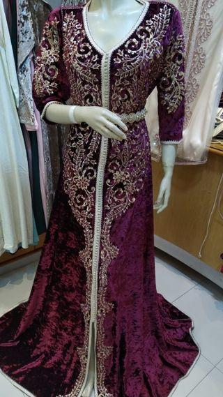 Kaftan vestido arabe talla Xl .