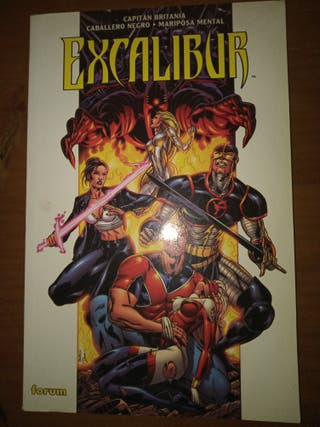 Excalibur Comic