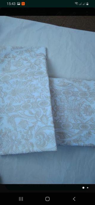 Dos fundas de almohada nuevas Zara Home