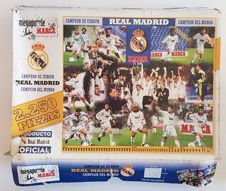 Megapuzzle Real Madrid Campeón de Europa/Mundo
