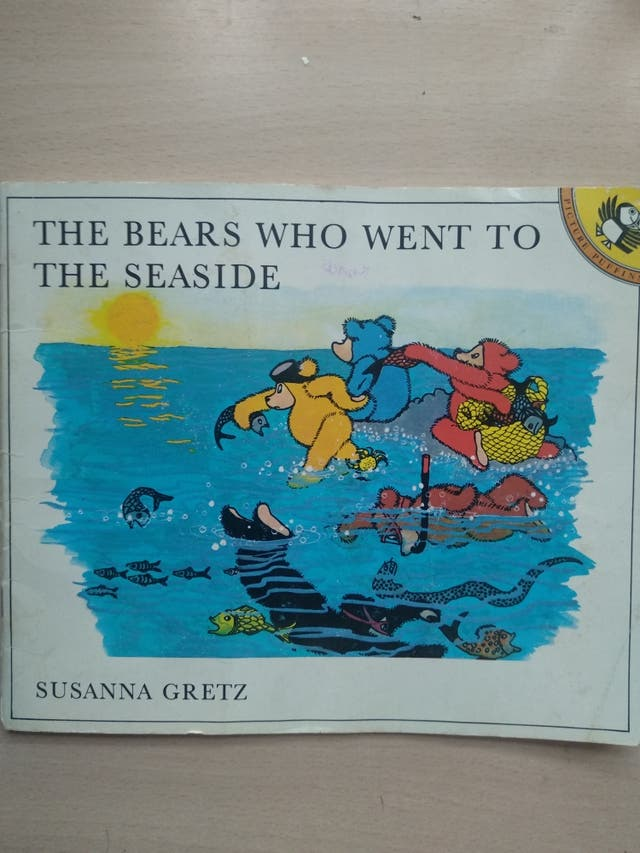 Dos libros infantiles en inglés. Inicio. Básico