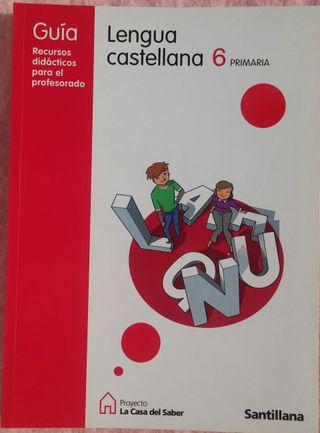 6º Primaria, Lengua Castellana, Guía Profesorado