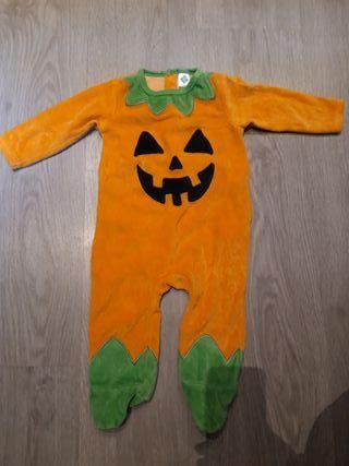 pijama disfraz de calabaza bebé T9 M