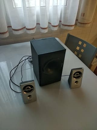 Altavoces y subwoofer sony