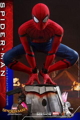 Spiderman Homecoming Figura 1/4 Hot Toys Marvel