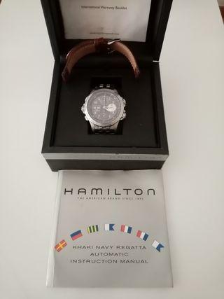 reloj automático Hamilton x wind