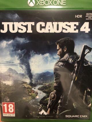 Juego Xbox One Just Cause nuevo y precintado
