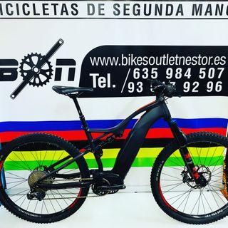 Bicicleta eléctrica Orbea wild fs 20