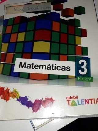 Libro Matemáticas 3°de primaria
