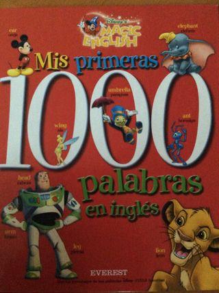 "Libro infantil ""Mis primeras palabras en inglés"""