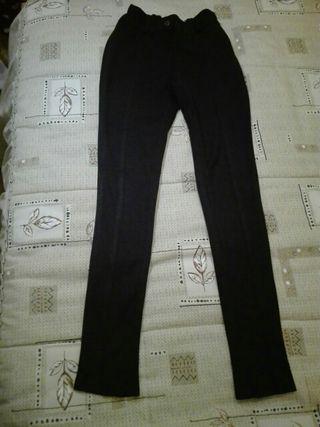 Pantalones tela niña