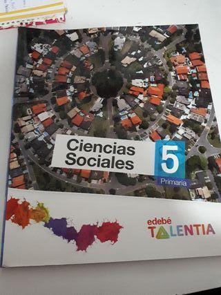 Libro Sociales 5° De primaria