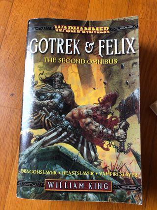 Gotrek & Felix. Warhammer