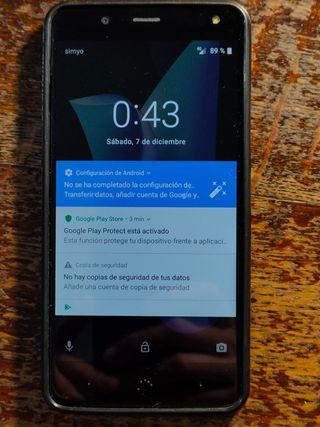 Bq Aquaris U2 Libre, 16Gb, 2Gb RAM, NFC