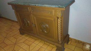 Mueble recibidor antiguo mármol
