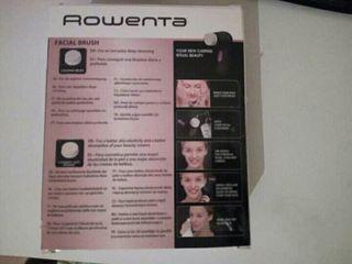 Limpiador facial Rowenta sin usar.