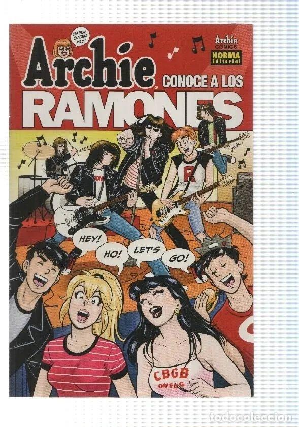 Archie Comics: Archie conoce a los Ramones