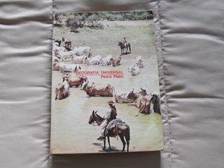 Libro de texto GEOGRAFÍA UNIVERSAL de Pedro Plans