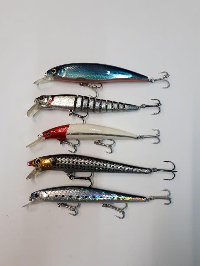 5 Rapalas señuelos artificiales pesca