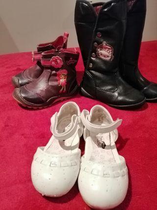 Calzado de niña, botas, botines y zapatos