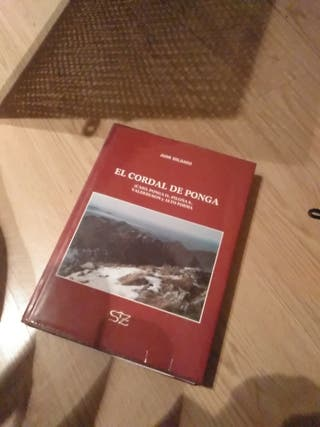 ESPECTACULAR LIBRO EL CORDAL DE PONGA
