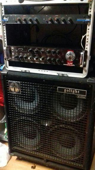 Amplificador de Bajo SWR Golight 4X 10