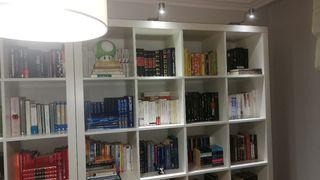 mueble librería blanca
