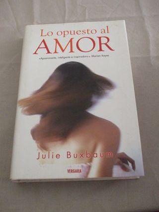 Lo opuesto al amor (novela)