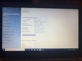 Portatil HP AMD A8